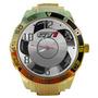 Relógio Orbital Vw Gol Gti Gts Impact Relógio Dourado Barato