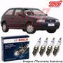 Jogo Vela Bosch Sp39 Gol G2 1.0 16v Gasolina Gnv 69cv 97-99