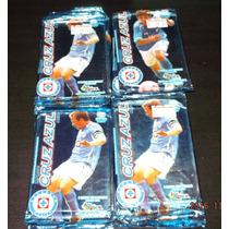 Lote De 20 Sobres De Tarjetas Cruz Azul Imagics Futbol