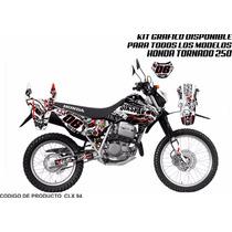 Graficos Calcas Kit Honda Crf / Cr / Xr / Tornado