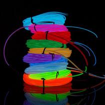 Cable Led Hilo Neon Luminoso 3 Metros El Wire Tuning Tron