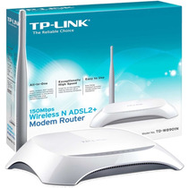 Modem+router Td-w8901n Tp Link 150mbps Tienda Fisica