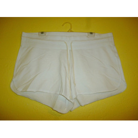 Short Marca Old Navy Color Blanco Talla Extra Grande 16 / 18