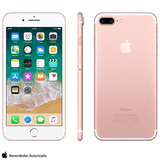 Iphone 7 Plus Ouro Rosa Tela 5,5 4g 32 Gb 12 Mp Mnqq2bz/a