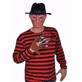 Camisa Freddy Krueger Disfraz Talla Unica