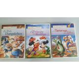 Dvd - Os Tres Porquinhos + O Principe E O Mendigo + A Tartar