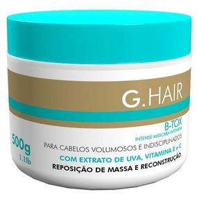 Máscara Reposição De Massa E Reconstrução G.hair B-tox 500g