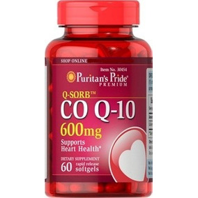 Co Q-10 600 Mg 60 Capsulas