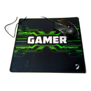 Mousepad Tapete Gamer Green Leaf 25x29