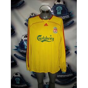 e794e38824848 Jersey Original adidas Visita Larga Liverpool Inglaterra