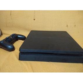 Playstation 4 Slim C 5 Jogos (god Of War 4 Em Mídia Digital)
