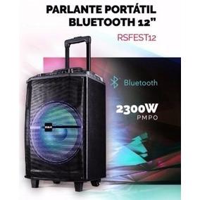 Parlante Portátil Bluetooth Rca Incluye Micrófono