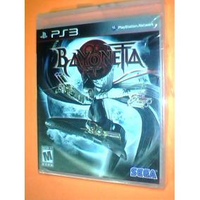 Bayonetta Ps3 Original Completo Con Caja Y Manual