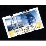 Alemanha * Franquia E$0,55 * Edifício Correios Bonn
