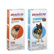 Bravecto Comb (1 ) Unid  4,5 A 10kg + (1) Unid 20 A 40 Kg