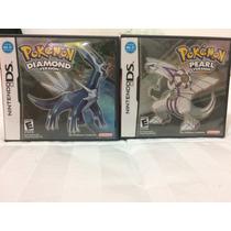 Pokemon Pearl + Diamond Version - Ds / 3ds - Raridade !!!