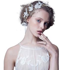 Coroa Tiara Headband Flores Noiva 15 Anos Festa Formanda