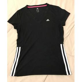 Remera Deportiva Negra adidas Original