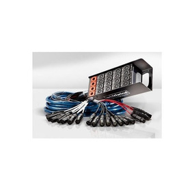 Manguera Medusa Whirlwind Ms16-4-100 30 Metros Xlr Lucespro
