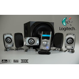 Home Theater Subwoofer Logitech 5.1 Z5500 Como Nuevo