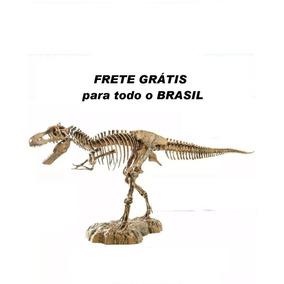 Dinossauro Coleção Completa Tiranossauro Rex - Replica