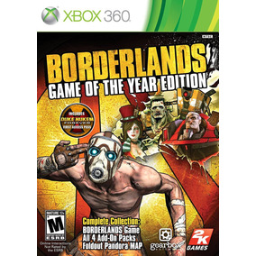 Borderlands: Game Of The Year Edition - Xbox 360 E Xbox One