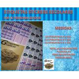 Etiquetas Stickers Escolares Personalizadas Utiles Colegio.