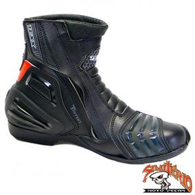 Bota Texx Esportiva Cano Baixo Moto Triton Preta 38