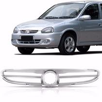 Grade Corsa Classic / Sedan 2003 Em Diante Cromada
