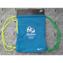 Rio 2016 Bolsa Saco Nike Exclusivo Oficial Da Rio2016 Linda