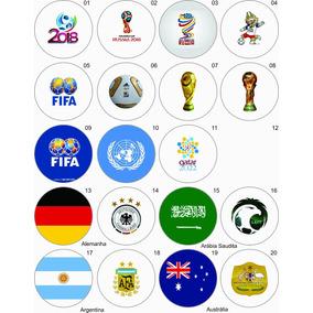 1 Boton Botton 3,5 - Copa Mundo 2018 Rússia - Fifa - Futebol