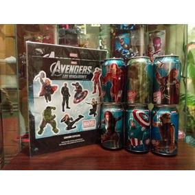 Dr Pepper Latas Coleccionables Marvel