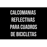 Calcomanias Reflectivas Para Bicicletas