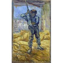Lienzo Tela El Trillador Vincent Van Gogh 50 X 80 Cm