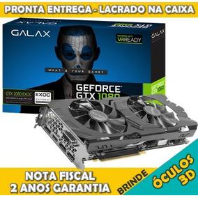 Geforce Galax Gtx1080 8gb Exoc Oc 2anos Garantia 12x S/juros