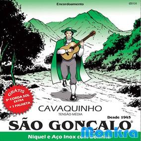 Cordas P/ Cavaco São Gonçalo Caixa C/ 12 Jogos - Promoção!