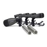 Kit De Microfonos Para Bateria Samson Dk707