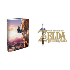 Guia Zelda Breath Of The Wild - Inglés - Envío Gratis!