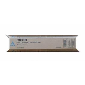 Toner Ricoh Sp C430 Ciano Original | Sp C430dn Sp C431dn