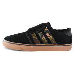 Zapatillas adidas Originals Seeley Negra/camuflada Hombre