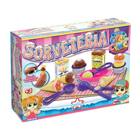 Sorveteria Infantil Brinquedo Crec-crec Bigstar 344-ccs