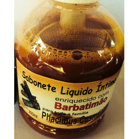 Barbatimão Sabonete Líquido (100% Natural) 04 Und 300ml