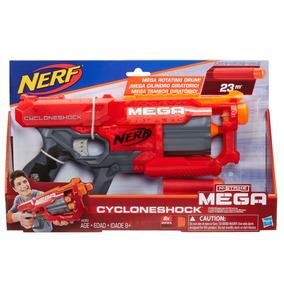 Pistola Lanzadardos Nerf Mega Cycloneshock 6 Dardos