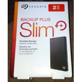 Disco Duro Externo Portatil Seagate Backup Plus Slim 2tb Usb