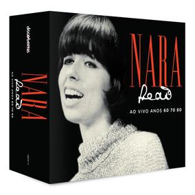 Cd Nara Leão Ao Vivo Anos 60 70 80 - Box Set 4 Cds