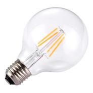Lámpara Foco Led Retro Vintage 4 Filamentos Blanco Cálido