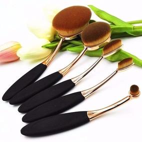 Pincel Escova 5 Maquiagem Kit Pronta Entrega Oferta