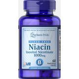 Niacinamide Vitamina B3 1000mg. 60 Cap Sin Enrojecimiento