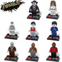 Drácula Múmia Zombie Bonecos Terror Monstros Lego Compatível