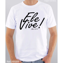 Camiseta Evangélica Gospel Religiosa Cristãs Frases Bíblia